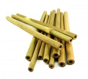 100-Bamboo-Straws